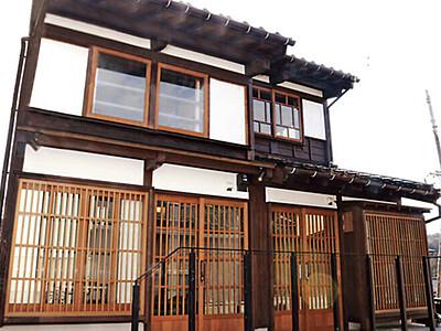 「風の盆」の町で空き家 サブスク 富山・八尾、通年観光目指す