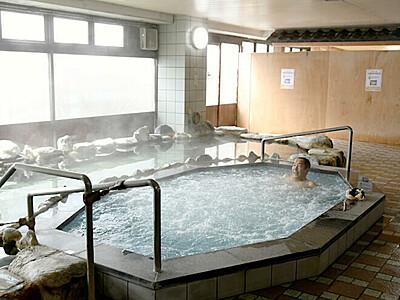 佐久「一萬里」11ヵ月ぶり再開 日帰り温泉でプレオープン