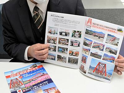 ガイドブック、別所線の乗車に役立てて 上田の会社が無料配布