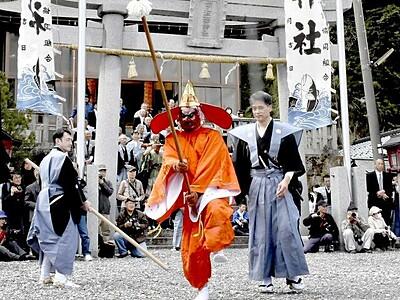 伝統「王の舞」中止相次ぐ コロナ影響で 福井県嶺南地方