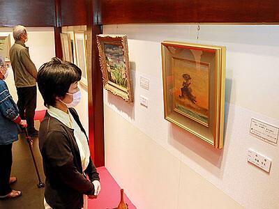 万葉歌の情景浮かぶ絵画 富山市の「世界一かわいい美術館」