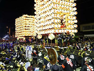 「かっちゃ」初の無観客 5月の伏木曳山祭
