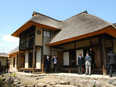 「松代の原風景」公開再開 武家屋敷、長野市が保存修理