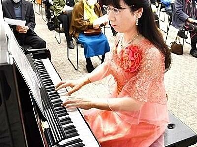 人道の港に春の調べ 敦賀ムゼウムでピアノ公演