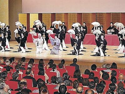 金沢おどり2年ぶり 石川県立音楽堂で9月23~26日 三茶屋街の芸妓競演
