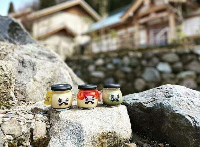 『永平寺だるまプリン』のプリン