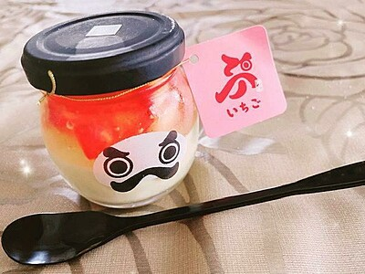 永平寺で縁起良く「永平寺だるまプリン」 いちご、抹茶味、名物ソフトクリームも【ふくジェンヌ】