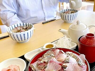 「よっぱらいサバ」、炙り丼で気軽に 福井県小浜市の海鮮レストラン