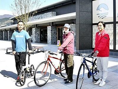 大野市、勝山市、永平寺町を自転車で回遊 レンタル開始