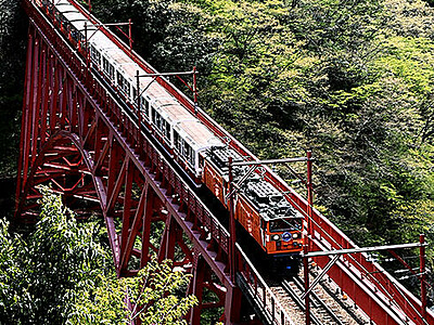 待ってた峡谷の春 黒部トロッコ電車