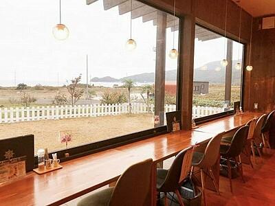 海へは徒歩1分、テラス席もある癒しカフェ 福井県美浜町の「マハナテーブル」【ふくジェンヌ】