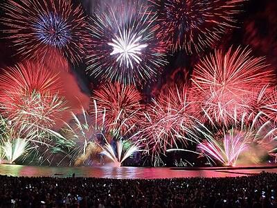 「敦賀花火」が今年も中止 気比の松原海水浴場の海開きも