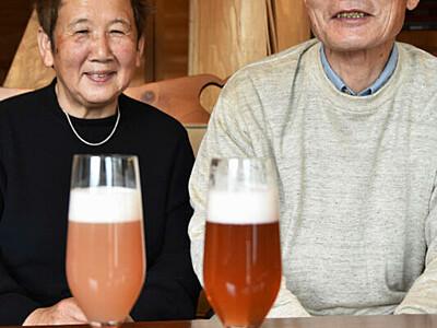 ルバーブの味、乾杯に添えて 富士見の夫妻、ビール商品化へ