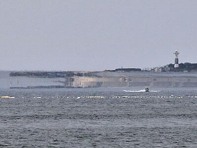海上に「ワニ」出現 魚津で蜃気楼Cランク