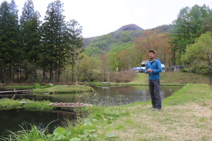 1万平方メートル超の敷地に釣り堀や田畑がある体験拠点