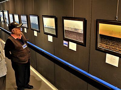 蜃気楼の神秘見て 魚津の研究会が写真展