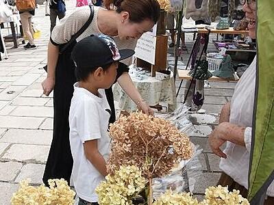 手作り市「七間楽市」5月30日開催、40店が出店 福井県大野市の七間通り スイーツやアクセサリーも