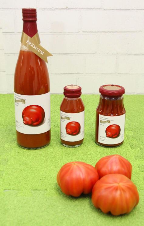 曽我農園の新ブランド「越冬トマト」を使ったジュースやケチャップ
