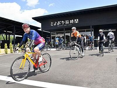 豊丘でレンタサイクルスタート 飯田下伊那を走る記念企画も