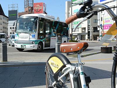 バスと自転車セットでお得に 松本市内1日乗り放題