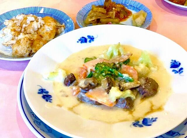 「NOBU-morimoto」(ノブ・モリモト)のランチの料理