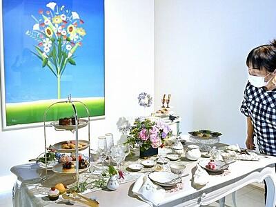 食卓彩る伝統工芸品、福井県鯖江市で企画展 越前漆器や越前焼、越前和紙