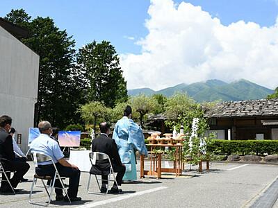 中ア駒ケ岳と宮田高原の開山式 明るい兆し...期待