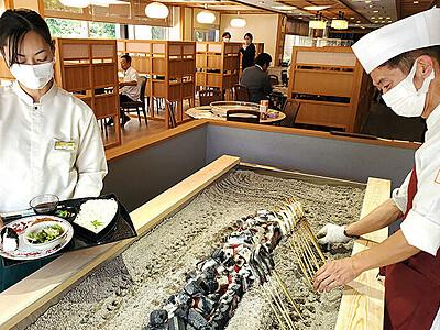 「となみ野庄川荘」オープン 旧越中庄川荘、柿里が運営
