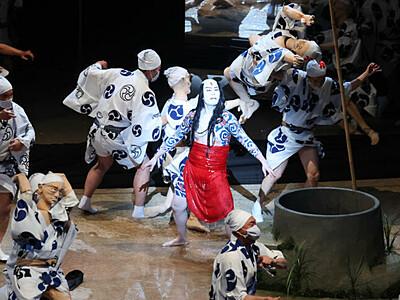おかえり勘九郎さん、熱い拍手 まつもと大歌舞伎