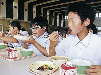 中能登の小中学校 給食に天然「能登ふぐ」