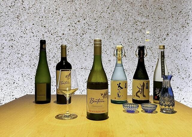 和食個室ダイニング「柳月亭」がそろえる地酒やワイン