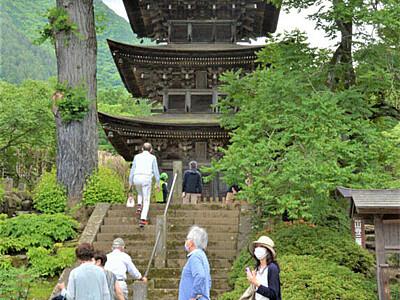 日本遺産認定1周年記念 上田・塩田平4寺院を無料開放