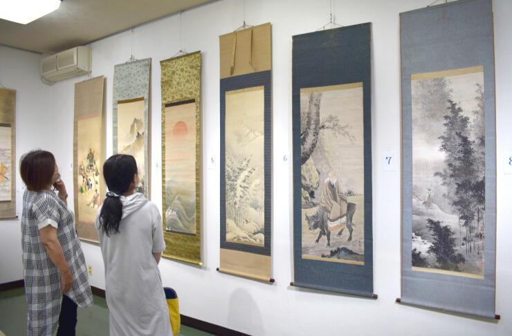 大正から昭和初期にかけて活躍した日本画家、宮里静輝の作品展=魚沼市虫野の伊米ケ崎公民館