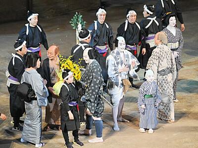 新型コロナ下、感謝の千秋楽 まつもと大歌舞伎