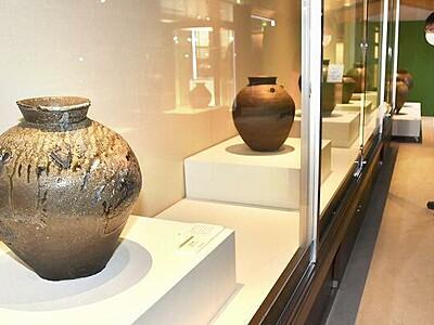 古代から中世の越前焼ずらり 福井県陶芸館50周年特別展