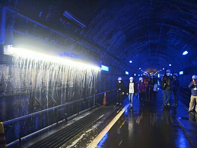 難所「破砕帯」見学ツアー始まる 立山黒部アルペンルートのトンネル工事