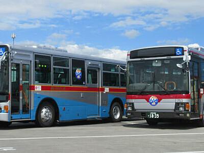 長電バスが「東急バス」カラーに 特急バス60年記念、長野で7日から