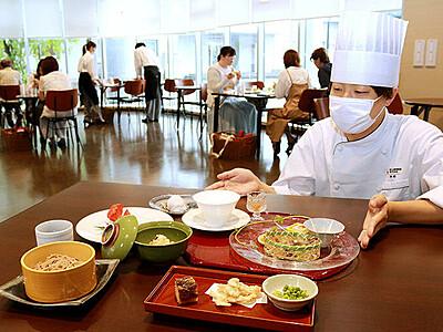 薬膳料理で健康に 学生が初めて客に提供 富山調理製菓専門学校