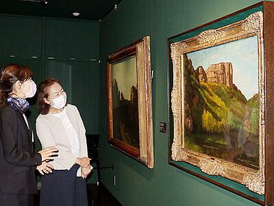 常設作品入れ替え 美術館「ギャルリ・ミレー」