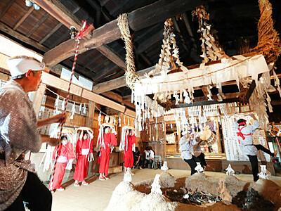 飯田「下栗の掛け踊り」2年ぶり 観覧を一部制限し開く見通し