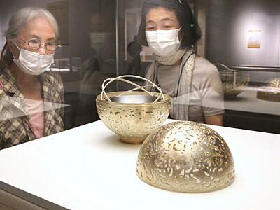 正倉院の宝物 精巧に再現 長岡 県立近代美術館
