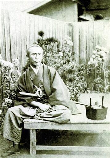 福井藩士の子孫に伝来した坂本龍馬の写真(個人蔵)