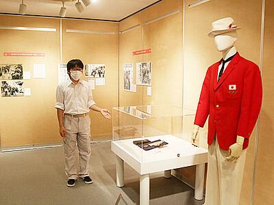 地元選手の活躍紹介 滑川市立博物館がスポーツ展