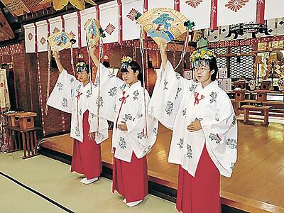 実盛しのび舞奉納 小松・多太神社かぶと祭り