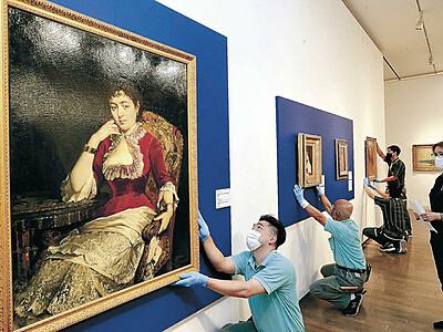 美の系譜示す名画 「ミレーから印象派への流れ展」が金沢21世紀美術館で30日開幕