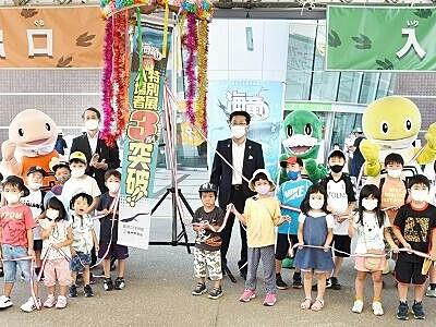 「海竜展」入場3万人を突破 福井県立恐竜博物館