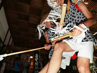 和合の念仏踊り、伝統つなぐ舞 阿南で始まる、観覧は住民限定