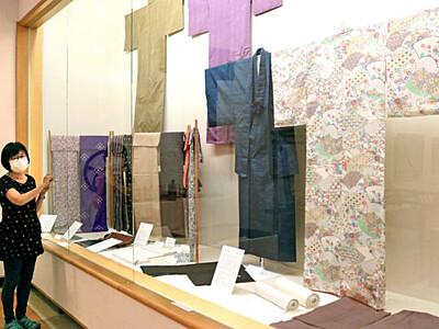 手織物・絹文化 歴史伝える企画展 長岡 栃尾美術館