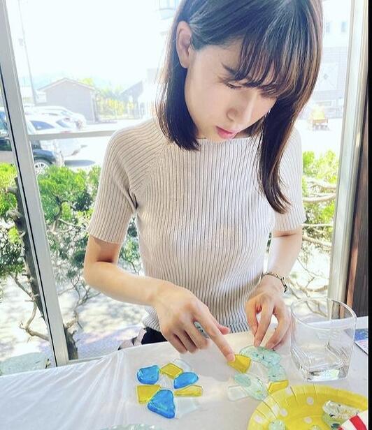 「ガラス工房KEiS庵」でガラス体験=福井県小浜市