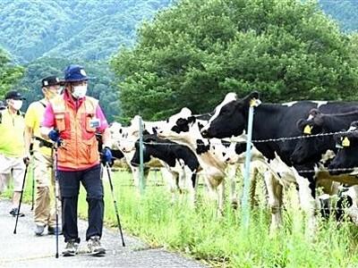 陸軍旧跡を歩いて学ぶ 大野・六呂師高原で催し
